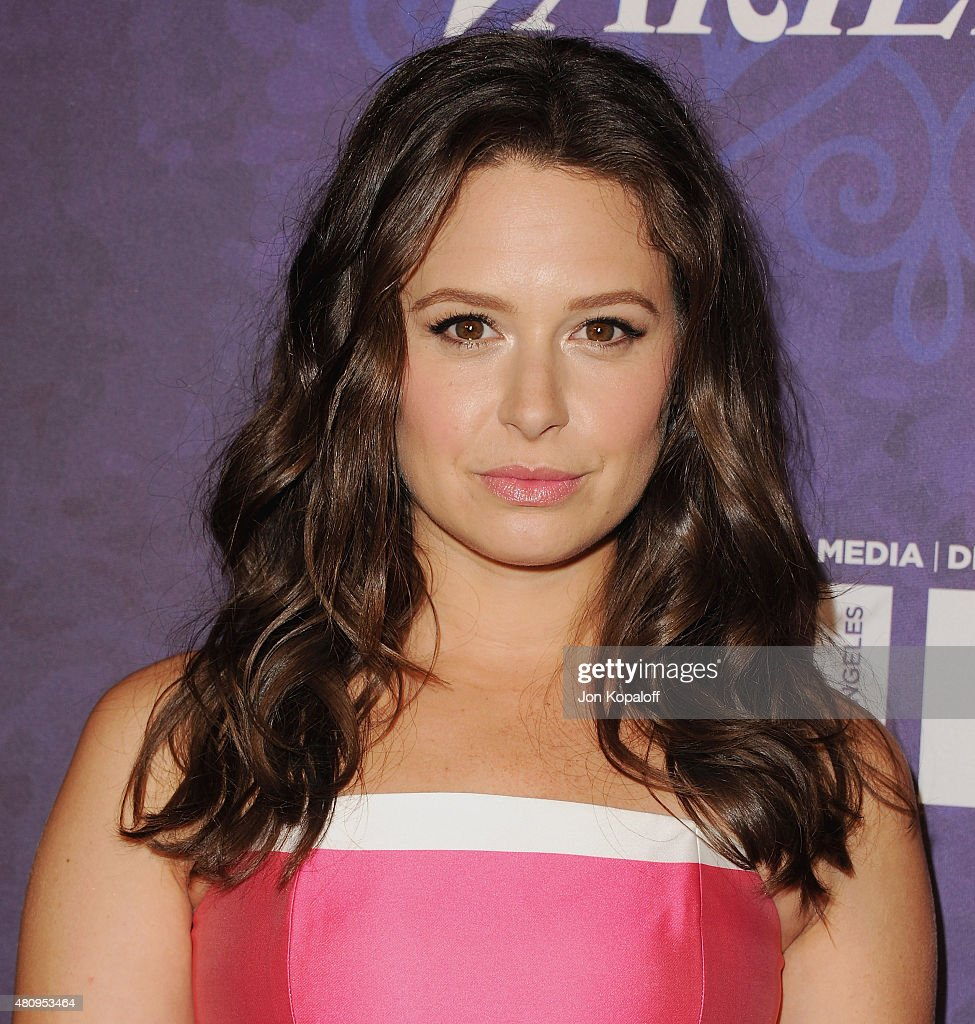 Actress Katie Lowes arrives at Variety And Women In Film Annual Pre-Emmy Celebration at Gracias Madre on August 23, 2014 in West Hollywood, California.