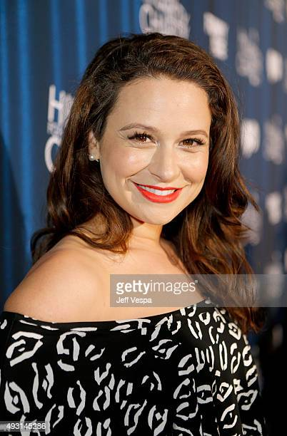 Actress Katie Lowes attends Hilarity for Charity's Annual Variety Show James Franco's Bar Mitzvah benefitting the Alzheimer's Association presented...