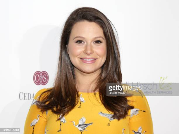 Actress Katie Lowes attends Teen Line's Food For Thought Luncheon The Power Of Empathy at The Beverly Hilton Hotel on May 25 2017 in Beverly Hills...