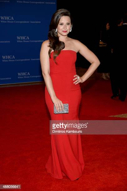 Actress Katie Lowes attends the 100th Annual White House Correspondents' Association Dinner at the Washington Hilton on May 3 2014 in Washington DC