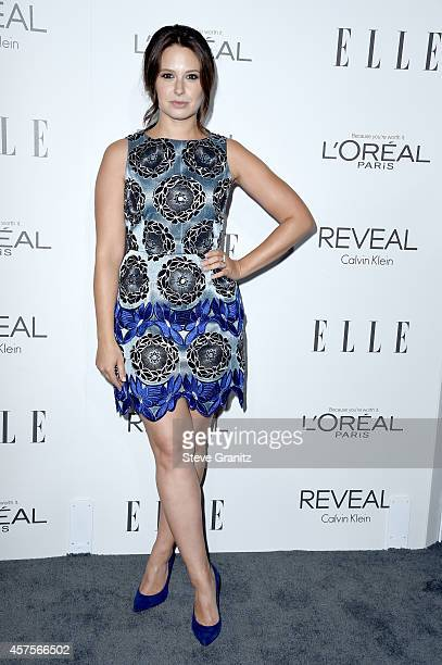 Actress Katie Lowes attends the 2014 ELLE Women In Hollywood Awards at the Four Seasons Hotel on October 20 2014 in Beverly Hills California
