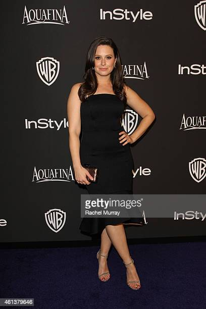 Actress Katie Lowes attends the 2015 InStyle And Warner Bros 72nd Annual Golden Globe Awards PostParty at The Beverly Hilton Hotel on January 11 2015...