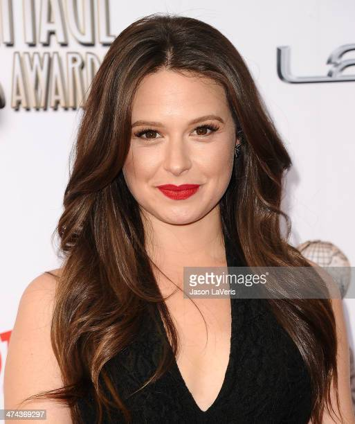 Actress Katie Lowes attends the 45th NAACP Image Awards at Pasadena Civic Auditorium on February 22 2014 in Pasadena California