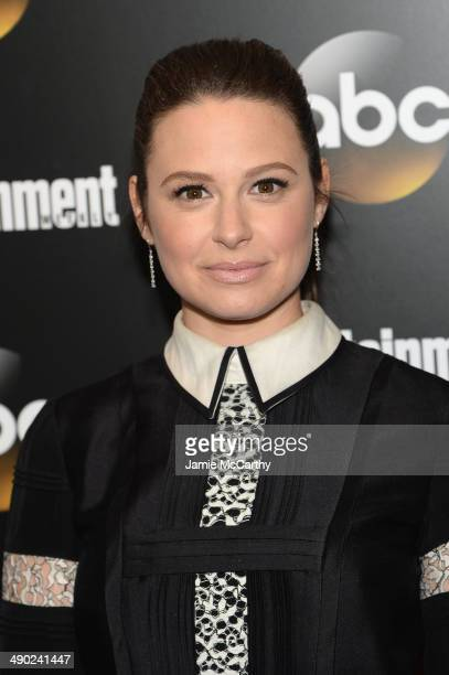 Actress Katie Lowes attends the Entertainment Weekly ABC Upfronts Party at Toro on May 13 2014 in New York City