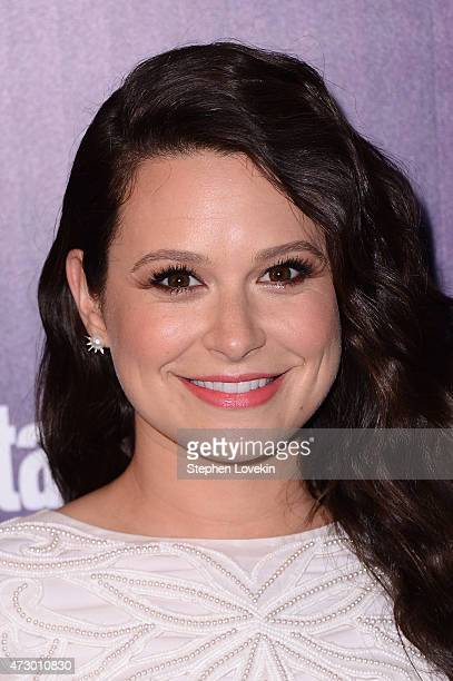 Actress Katie Lowes attends the Entertainment Weekly and PEOPLE celebration of The New York Upfronts at The Highline Hotel on May 11 2015 in New York...