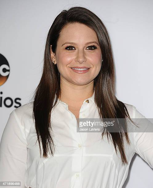 Actress Katie Lowes attends the Scandal ATAS event at Directors Guild Of America on May 1 2015 in Los Angeles California