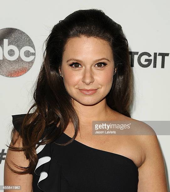 Actress Katie Lowes attends the #TGIT premiere event hosted by Twitter at Palihouse Holloway on September 20 2014 in West Hollywood California