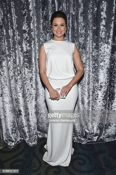 Actress Katie Lowes attends the Yahoo News/ABC News White House Correspondents' Dinner PreParty at Washington Hilton on April 30 2016 in Washington DC