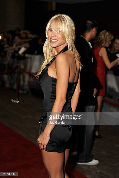 Actress Katie Morgan arrives at the Zack and Miri Make a Porno premiere during 2008 Toronto International Film Festival held at Ryerson Theatre on...