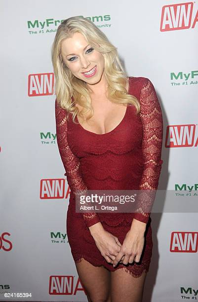 Actress Katie Morgan arrives for the 2017 AVN Awards Nomination Party held at Avalon on November 17 2016 in Hollywood California