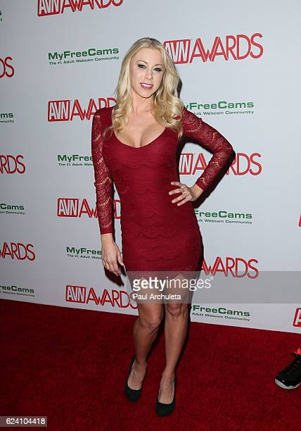 Actress Katie Morgan attends the 2017 AVN Awards nomination party at Avalon on November 17 2016 in Hollywood California