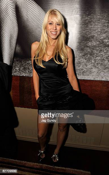 Actress Katie Morgan attends the Zack and Miri Make a Porno premiere after party during 2008 Toronto International Film Festival held at the Film...