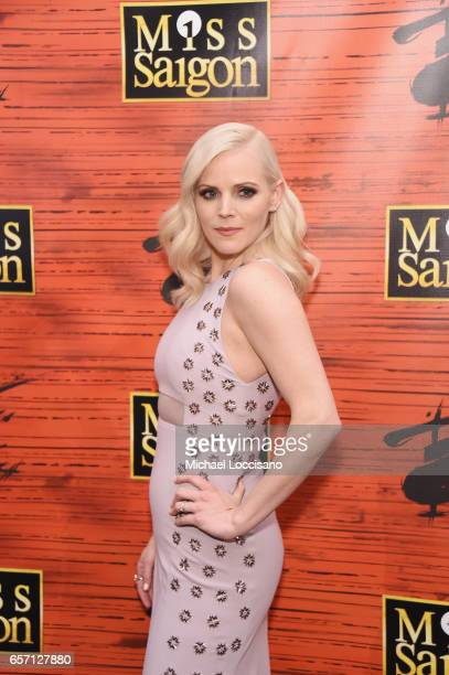 Actress Katie Rose Clarke attends the after party for Miss Saigon Broadway Opening Night at Tavern on the Green on March 23 2017 in New York City