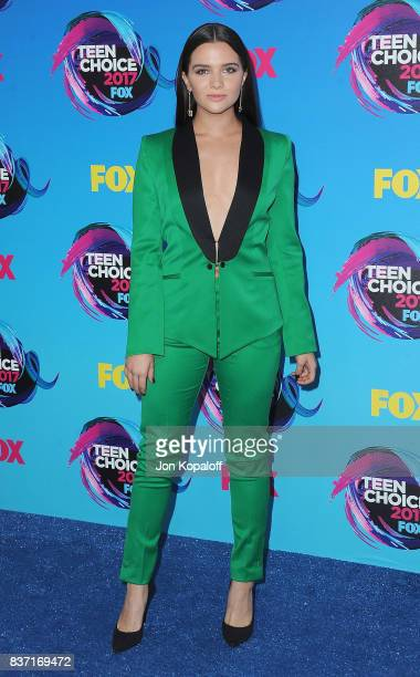 Actress Katie Stevens arrives at the Teen Choice Awards 2017 at Galen Center on August 13 2017 in Los Angeles California