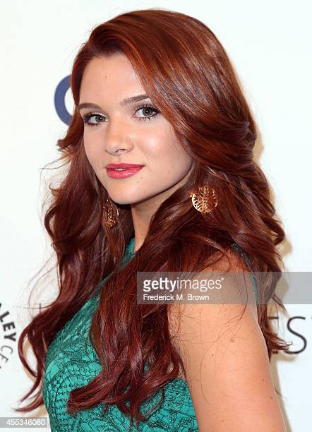 Actress Katie Stevens attends The Paley Center for Media's PaleyFest 2014 Fall TV Preview MTV at The Paley Center for Media on September 12 2014 in...
