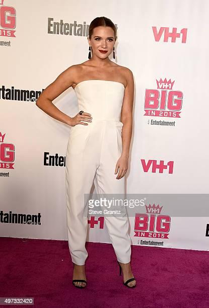Actress Katie Stevens attends VH1 Big In 2015 With Entertainment Weekly Awards at Pacific Design Center on November 15 2015 in West Hollywood...