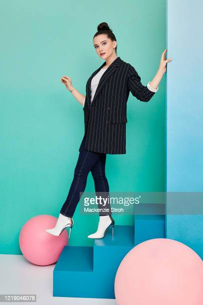 Actress Katie Stevens is photographed for Entertainment Weekly Magazine on February 27, 2020 at Savannah College of Art and Design in Savannah,...