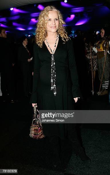 Actress Katja burkhard attends the Kitzrace Party, January 27 in Kitzbuehel, Austria.