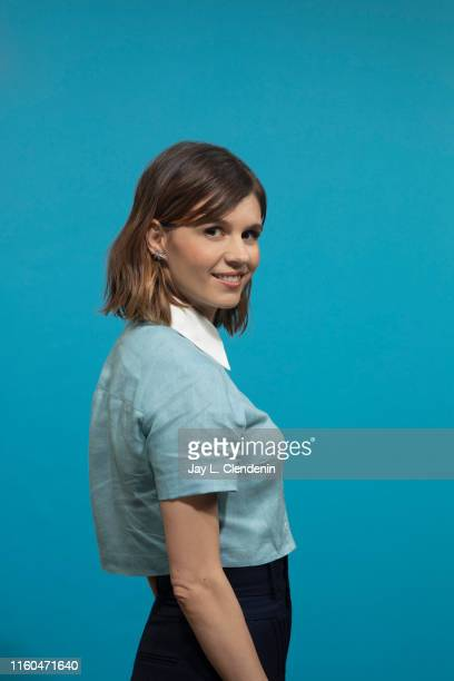 Actress Katja Herbers of 'Evil' is photographed for Los Angeles Times at ComicCon International on July 18 2019 in San Diego California PUBLISHED...