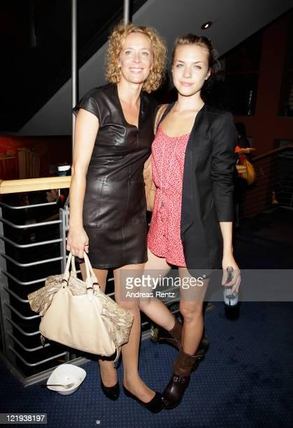 Actress Katja Riemann and daughter Paula Riemann attend the First Steps Award 2011 after show party at the Theater Am Potsdamer Platz on August 23...