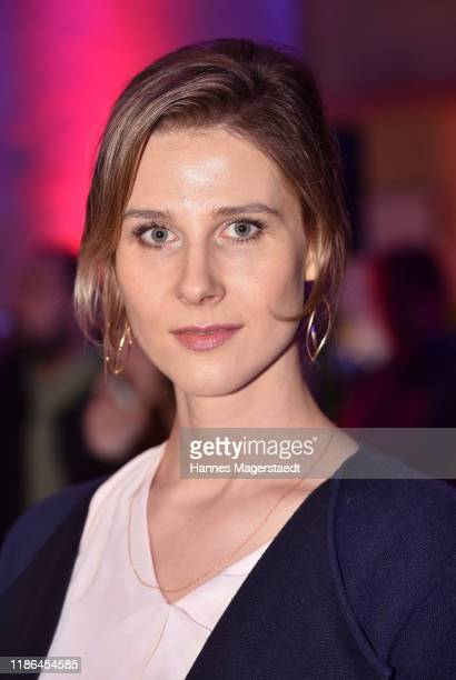 Actress Katrin Roever attends the Hindafing Season 2 photo call at HFF Muenchen on November 08 2019 in Munich Germany