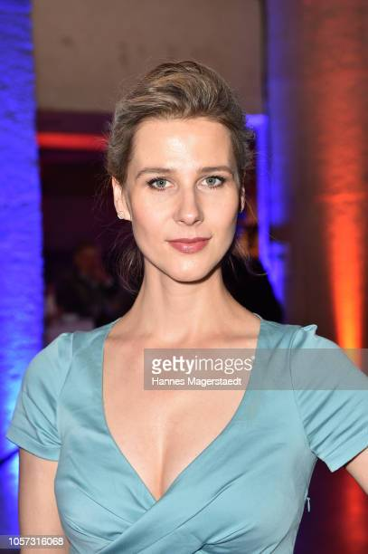 Actress Katrin Roever during the 8th German Director Award Metropolis at HFF Munich at HFF Muenchen on November 4 2018 in Munich Germany