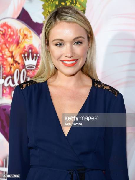 Actress Katrina Bowden attends Hallmark Channel And Hallmark Movies and Mysteries Winter 2018 TCA Press Tour at Tournament House on January 13 2018...