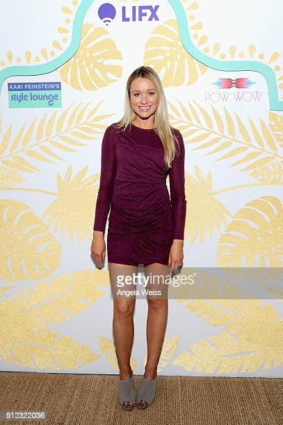 Actress Katrina Bowden attends Kari Feinstein's Style Lounge presented by LIFX on February 25 2016 in Los Angeles California