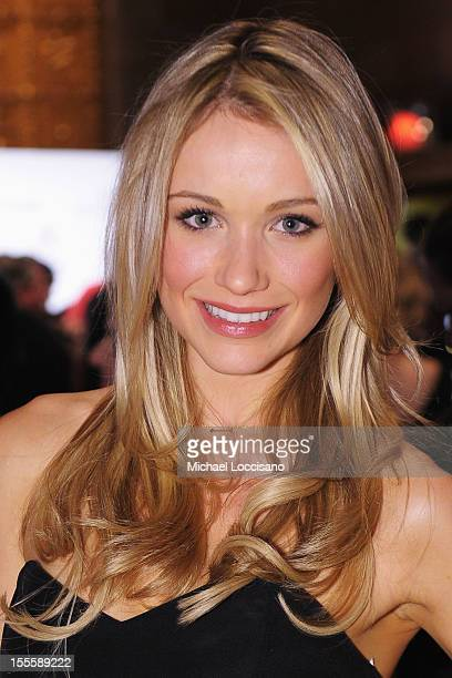 Actress Katrina Bowden attends the 16th Annual ACE Awards presented by the Accessories Council at Cipriani 42nd Street on November 5 2012 in New York...