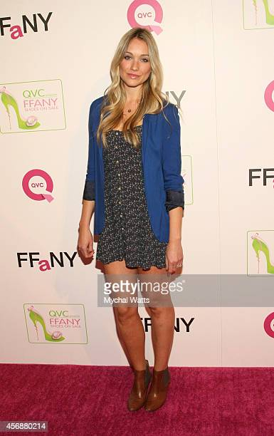 Actress Katrina Bowden attends the 2014 FFANY Shoes On Sale Gala at The WaldorfAstoria on October 8 2014 in New York City