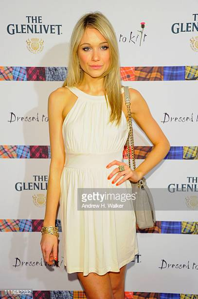 Actress Katrina Bowden attends the 9th Annual Dressed To Kilt charity fashion show at Hammerstein Ballroom on April 5 2011 in New York City