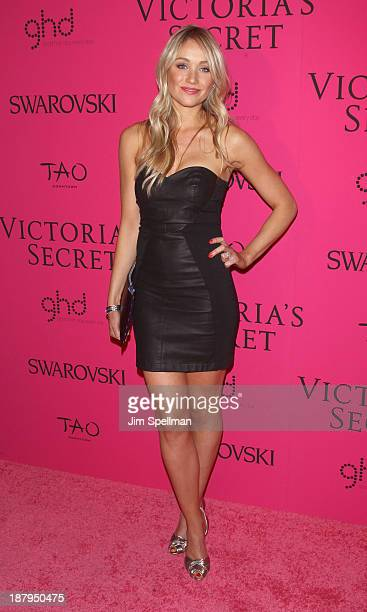 Actress Katrina Bowden attends the after party for the 2013 Victoria's Secret Fashion Show at TAO Downtown on November 13 2013 in New York City