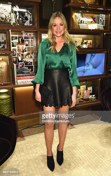 Actress Katrina Bowden attends the David Yurman Soho Boutique Grand Opening event to benefit New Yorkers For Children on February 10 2015 in New York...