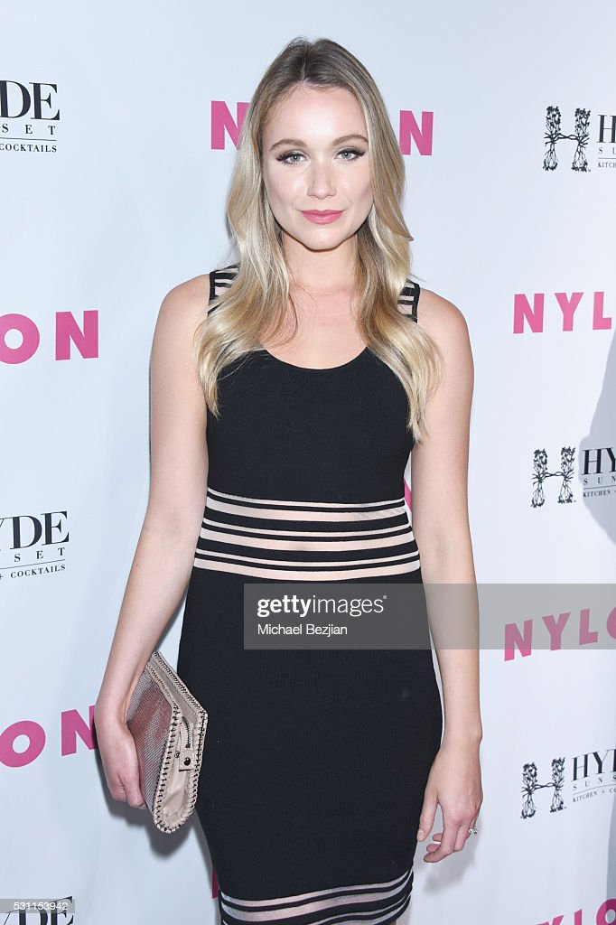 Actress Katrina Bowden attends the NYLON Young Hollywood Party Presented by BCBGeneration at HYDE Sunset: Kitchen + Cocktails on May 12, 2016 in West Hollywood, California.