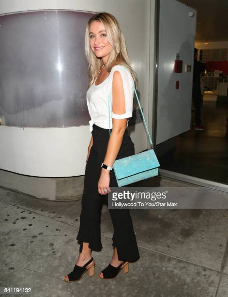 Actress Katrina Bowden is seen on August 30 2017 in Los Angeles CA