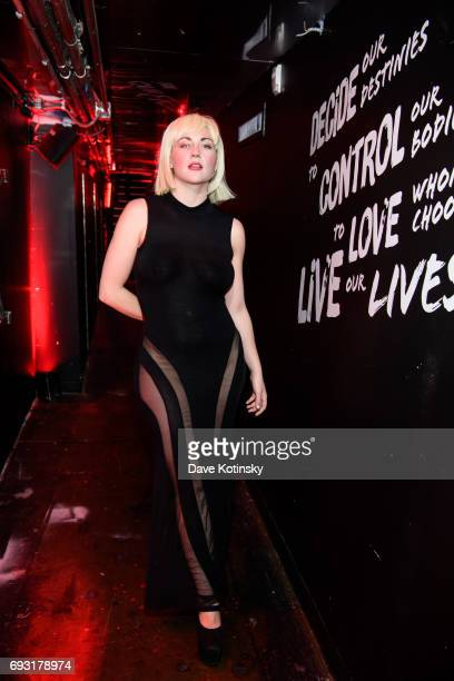 Actress Katrina Cunningham arrives at BBC AMERICA's Orphan Black Premiere Party at Vandal on June 6 2017 in New York City