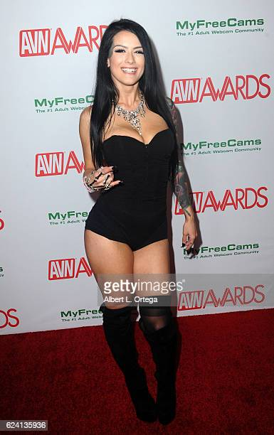 Actress Katrina Jade arrives for the 2017 AVN Awards Nomination Party held at Avalon on November 17 2016 in Hollywood California