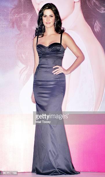 Actress Katrina Kaif at an event in Mumbai on Monday, February 1, 2010.