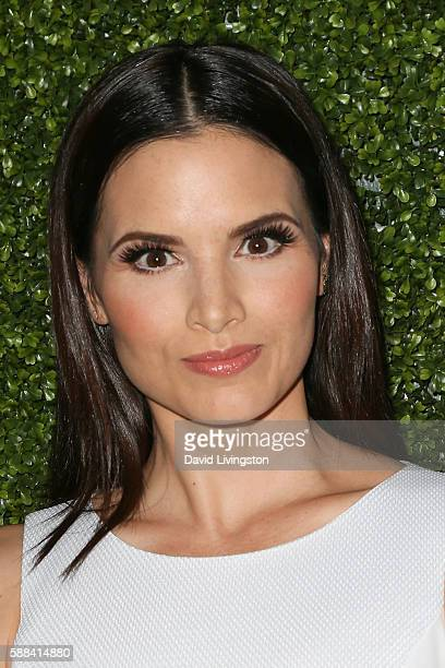 Actress Katrina Law arrives at the CBS CW Showtime Summer TCA Party at the Pacific Design Center on August 10 2016 in West Hollywood California