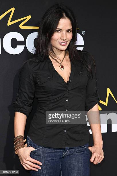 Actress Katrina Law arrives at the 'Method to the Madness of Jerry Lewis' premiere at Paramount Theater on the Paramount Studios lot on December 7...
