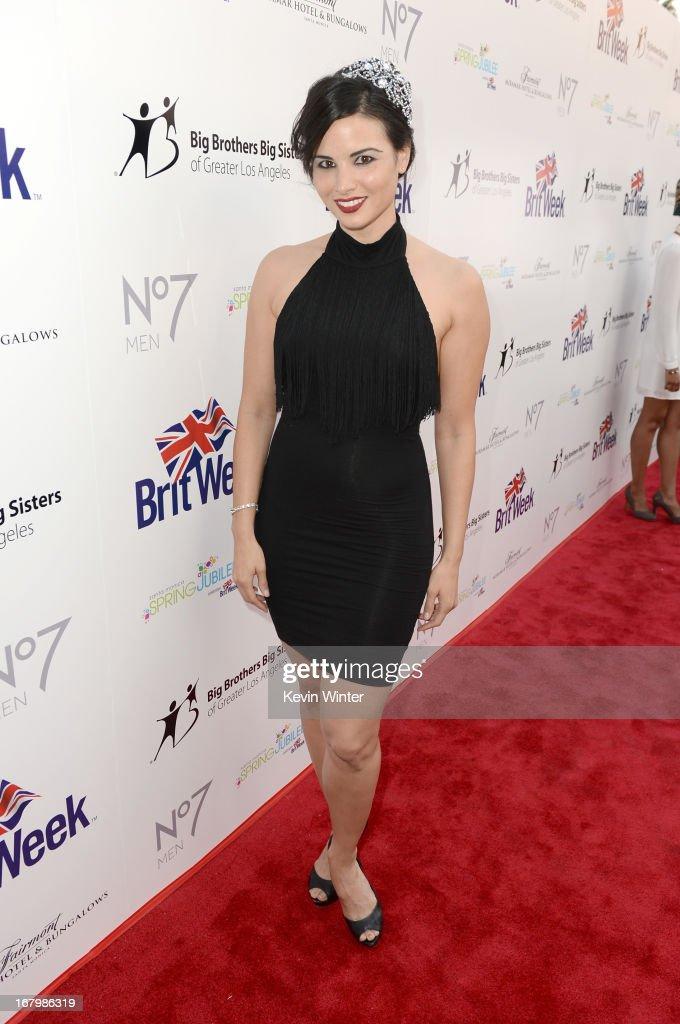 Actress Katrina Law attends BritWeek Celebrates Downton Abbey at The Fairmont Miramar Hotel on May 3, 2013 in Santa Monica, California.