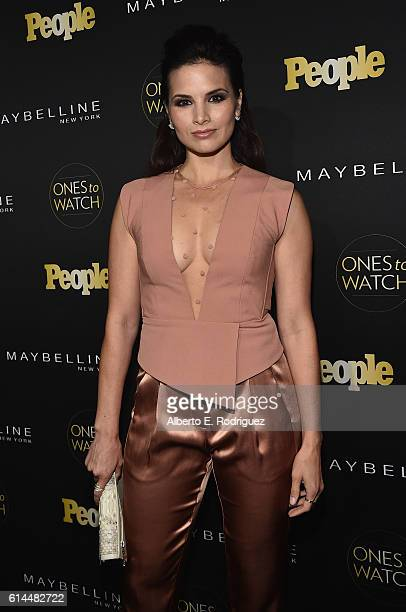 Actress Katrina Law attends People's Ones to Watch event presented by Maybelline New York at EP LP on October 13 2016 in Hollywood California
