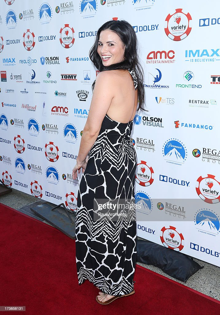Actress Katrina Law attends the 3rd annual Variety Charity Texas Hold 'Em Tournament & Casino Game at Paramount Studios on July 17, 2013 in Hollywood, California.