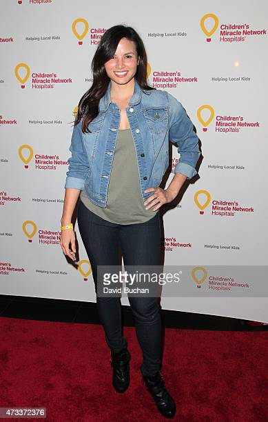 Actress Katrina Law attends the Jennifer Lopez and Marie Osmond launch of the Put Your Money Where The Miracles Are campaign at Avalon on May 14 2015...