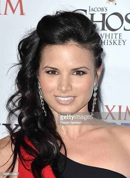 Actress Katrina Law attends the Maxim Hot 100 Party at Create on May 15 2013 in Hollywood California