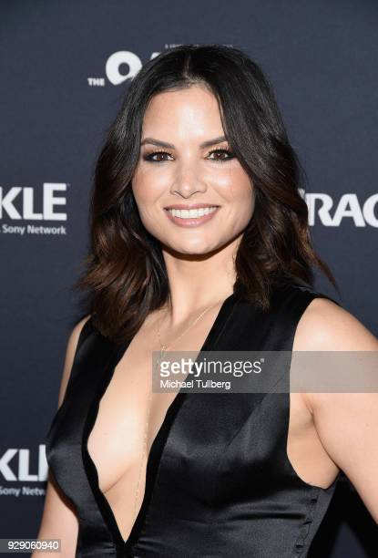 Actress Katrina Law attends the priemere of Crackle's The Oath at Sony Pictures Studios on March 7 2018 in Culver City California
