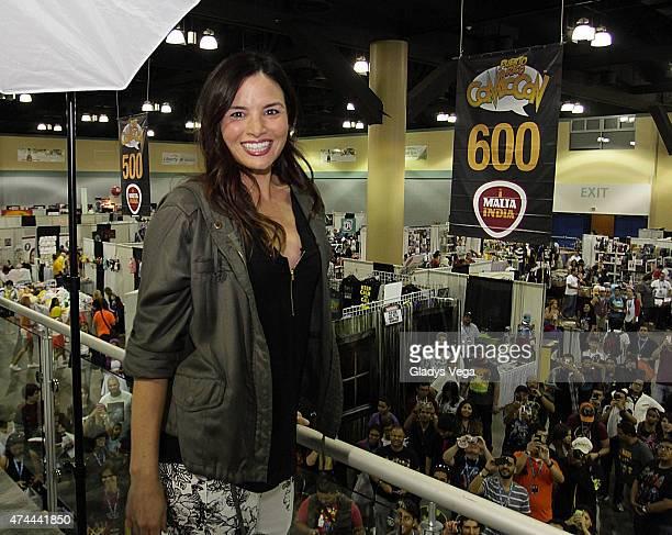 Actress Katrina Law of Arrow attends Puerto Rico Comic Con at the Puerto Rico Convention Center on May 22 2015 in San Juan Puerto Rico