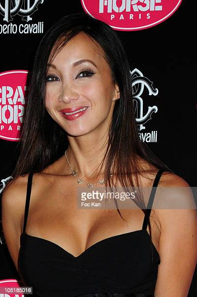 Actress Katsumi attends the Clotilde Courau Performs At the Crazy Horse Photocall on September19 2010 in Paris France