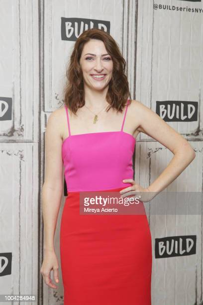 Actress Katy Colloton visits BUILD to discuss the television show 'Teachers' at Build Studio on July 23 2018 in New York City