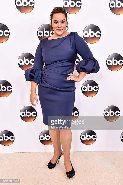 Actress Katy Mixon attends the Disney ABC Television Group TCA Summer Press Tour on August 4 2016 in Beverly Hills California